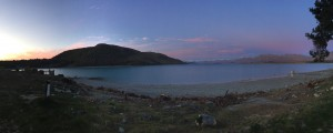 Absolutely beautiful sunset over Lake Tekapo