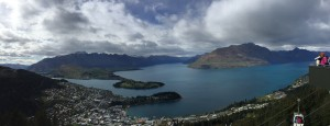 Panoramic views of Queenstown