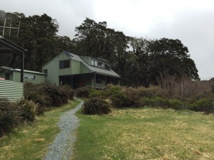 This was the DoC hut we stayed in for the night