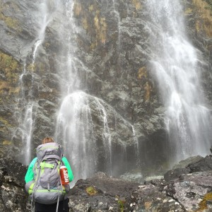 Creation is pretty great, isn't it?! I couldn't even fit the whole waterfall into the photo!
