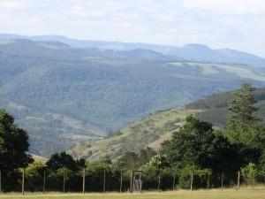 Rolling hills of Kwa-Zulu Natal