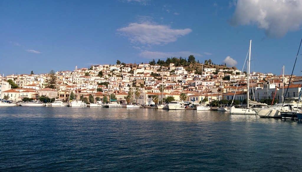 Poros, a little town in in the Saronic Gulf