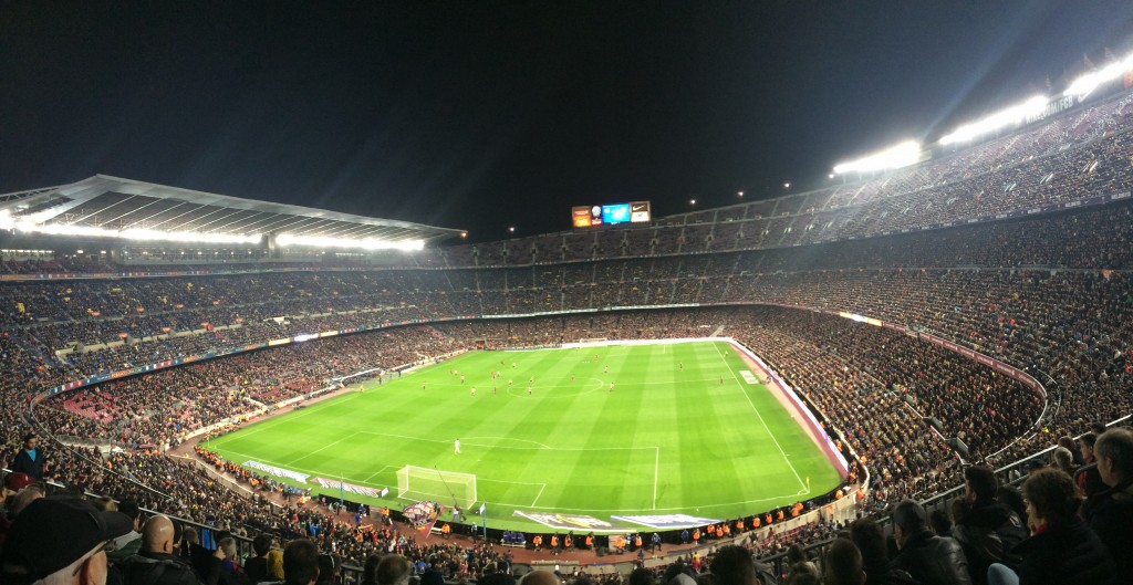 Watching some of the best - Messi, Neymar, Suarez