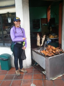 Cuy (although this photograph was taken in Baños, Ecuador and not la MDM).