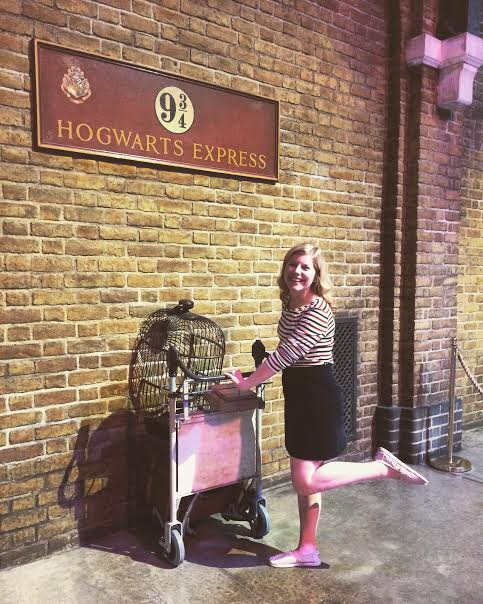 On my way to Hogwarts! That's actually where I'm studying abroad...