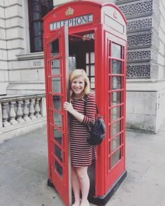 Aberdeen Blog 1- London phone booth