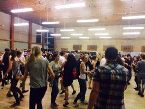 Ceilidh- dancing